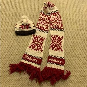 Hollister hat & scarf